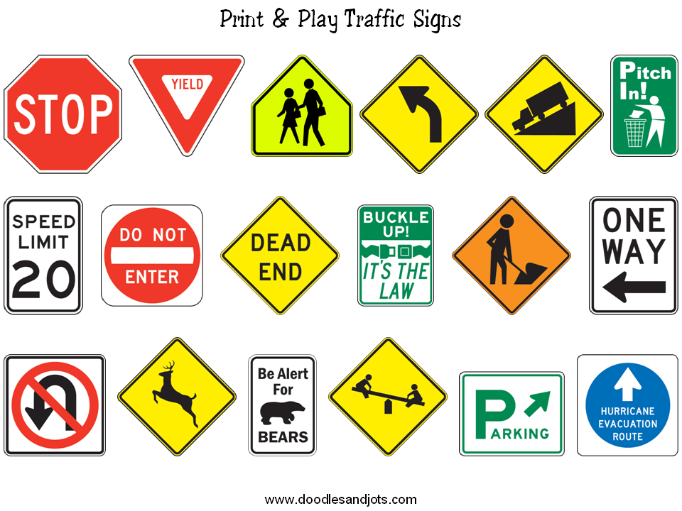 Traffic Signs Signs